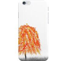 Orange Willow Tree iPhone Case/Skin
