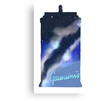Geronimo Tardis Canvas Print