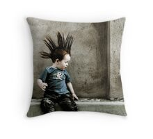 Young Punx Throw Pillow