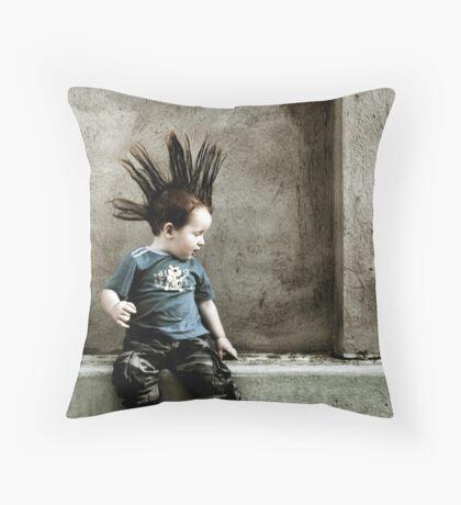 Young Punx Throw Pillow