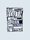 THE YOUTH GET WORN DOWN by Steve Leadbeater