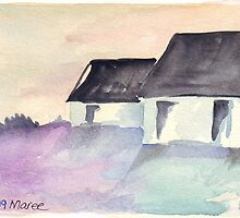 Weskushuisie 1 | Fisherman's Cottage 1 by Maree  Clarkson