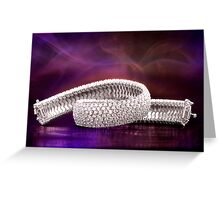 Diamond Twist Greeting Card