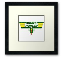 Bounty Hunter Emblem Framed Print