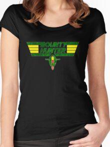 Bounty Hunter Emblem Women's Fitted Scoop T-Shirt