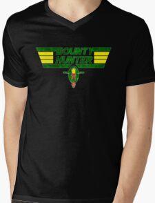 Bounty Hunter Emblem Mens V-Neck T-Shirt