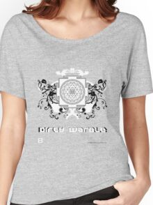 Dirty Warble Sri Yantra Women's Relaxed Fit T-Shirt