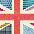 UK Beauty flag by Sharon Turner