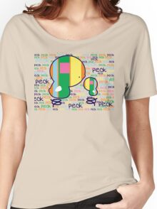 Peck Peck TShirt Women's Relaxed Fit T-Shirt