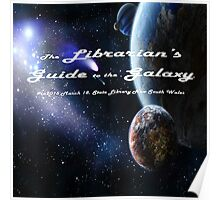 Librarian's Guide to the Galaxy - science and science fiction readers advisory Poster
