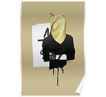 Gold shoulder Poster