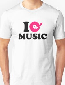 I love music DJ T-Shirt