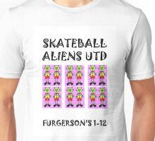 SKATEBALL  ALIENS UTD Unisex T-Shirt