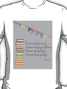 Read, Dr Seuss T-Shirt