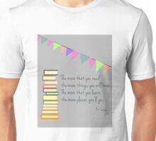 Read, Dr Seuss Unisex T-Shirt