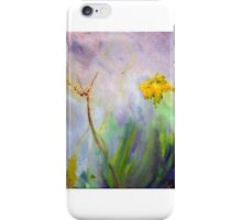 Bumble bee on flowers iPhone Case/Skin