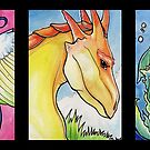 Three Dragons by Katelin Henderson