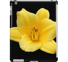 Inspired by Nature: Large Yellow Lily iPad Case/Skin
