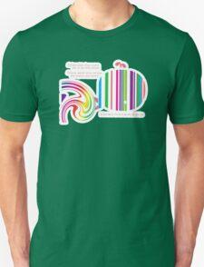 Stripey Whale TShirt T-Shirt