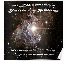 The Librarian's Guide to the Galaxy Poster