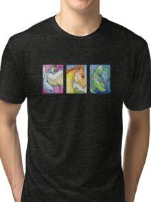 Three Dragons Tri-blend T-Shirt