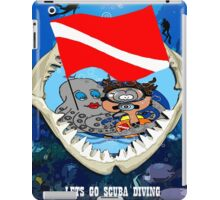 Shark!! iPad Case/Skin
