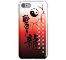 Yin & Yang Dragon iPhone Case/Skin