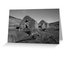 Glendalough church ruins Greeting Card