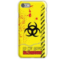 Hazardous iPhone Case/Skin