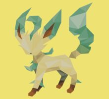 Origami Leafeon Kids Clothes