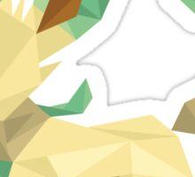 Origami Leafeon Sticker
