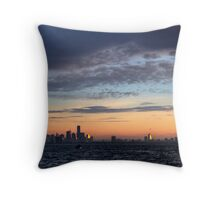 Typical melbourne sunrise Throw Pillow