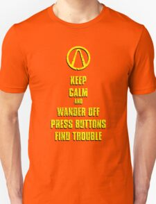 Keep Calm Pandora Unisex T-Shirt