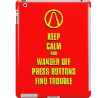 Keep Calm Pandora iPad Case/Skin