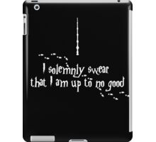 I am up to no good iPad Case/Skin
