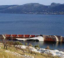 Elefsina Bay, Attika GR by Bentrouvakis