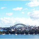 Sydney Harbour by Pam Amos