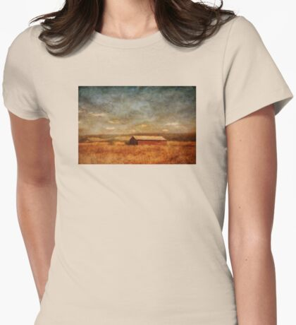 October Afternoon Womens Fitted T-Shirt