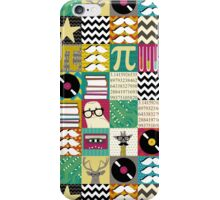 hip hip geek iPhone Case/Skin