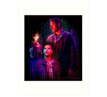 Supernatural Reloaded Art Print