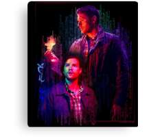 Supernatural Reloaded Canvas Print
