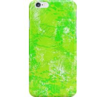 Green Paint  iPhone Case/Skin