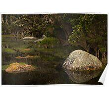 Boulders, Tidal River Poster