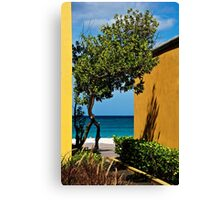 Caribbean Colour Canvas Print
