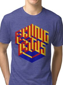 Flying Lotus Tri-blend T-Shirt
