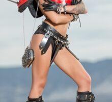 Steam Punk Red Warrior #1 Sticker