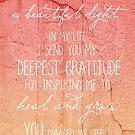 An Inspiring Light by CarlyMarie