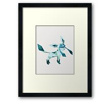 Origami Glaceon Framed Print