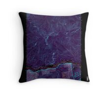 Maine USGS Historical Map Gilead 105159 1995 24000 Inversion Throw Pillow