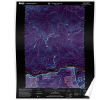 Maine USGS Historical Map Gilead 105159 1995 24000 Inversion Poster
